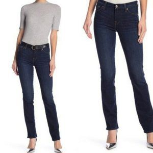 7 for all Mankind Dark Wash Straight Leg Jeans Size 25
